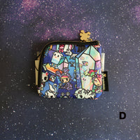 tokidoki - Crystal Kingdom Zip Coin Purse