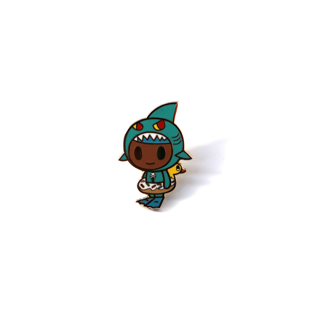 tokidoki - Little Shark Enamel Pin