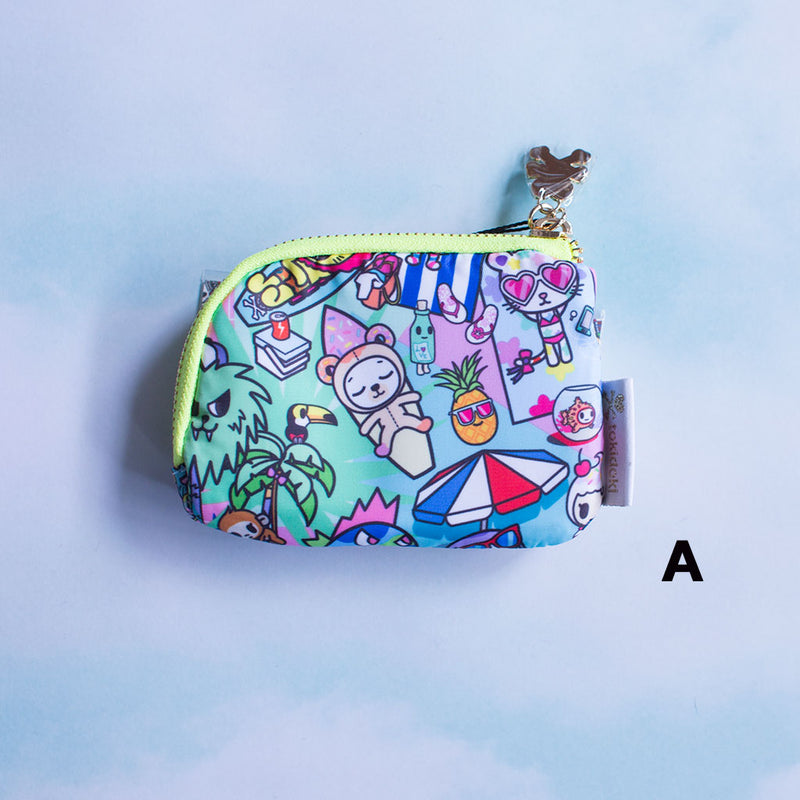 tokidoki - Pool Party Zip Coin Purse