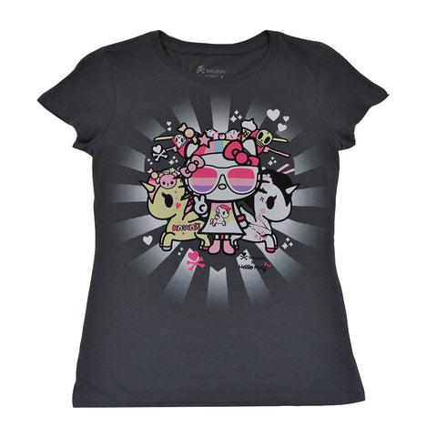 tokidoki x Hello Kitty - Super Kitty Women's Tee, Storm