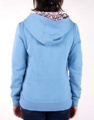 tokidoki - Sushi Donuts Women's Hoodie, Blue Heather Grey - The Giant Peach - 2