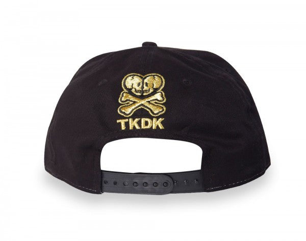 tokidoki - Tokipatra Snapback Hat, Black - The Giant Peach - 4