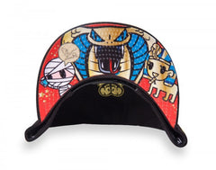 tokidoki - Tokipatra Snapback Hat, Black - The Giant Peach