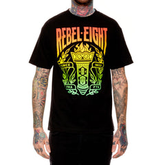 REBEL8 - MMIII Torch Men's Shirt, Black - The Giant Peach