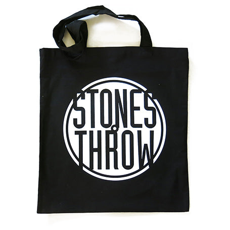 Stones Throw - Tote Bag, Black - The Giant Peach