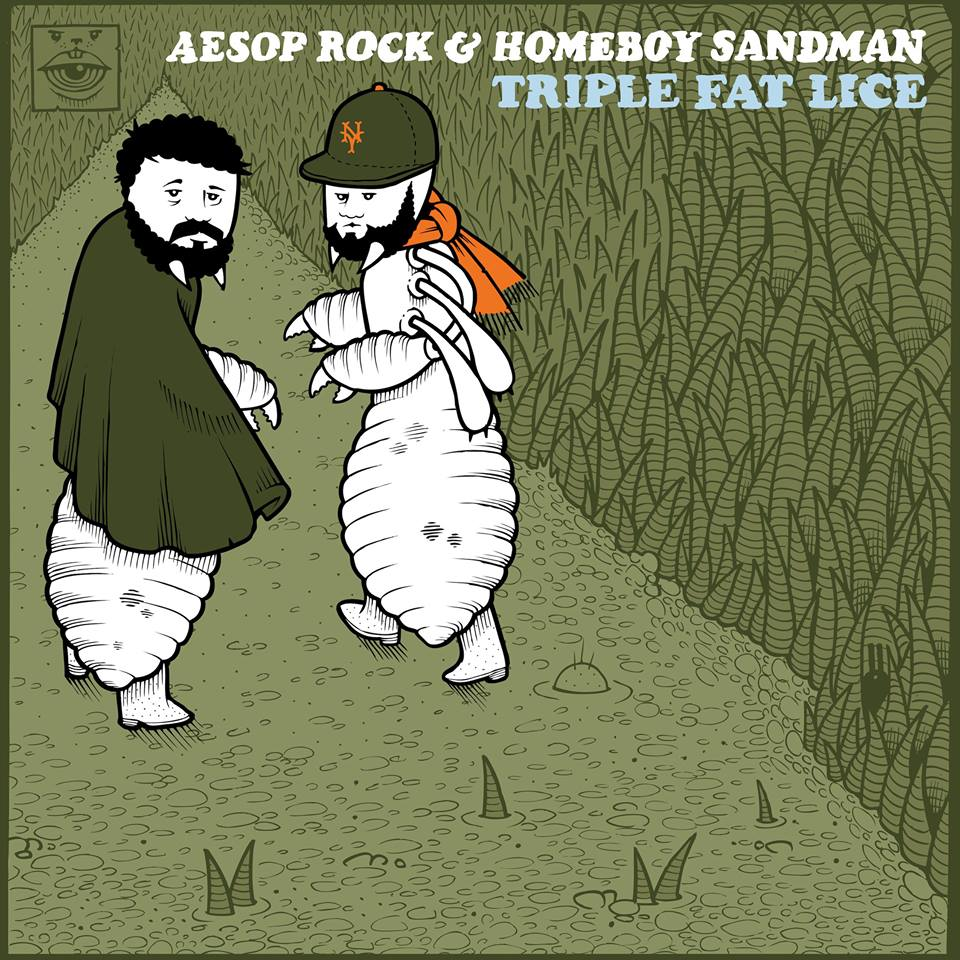 Aesop Rock and Homeboy Sandman - Triple Fat Lice - Free EP - The Giant Peach