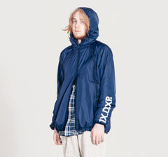 10Deep -  Triple Zip Men's Nylon Shell, Navy - The Giant Peach