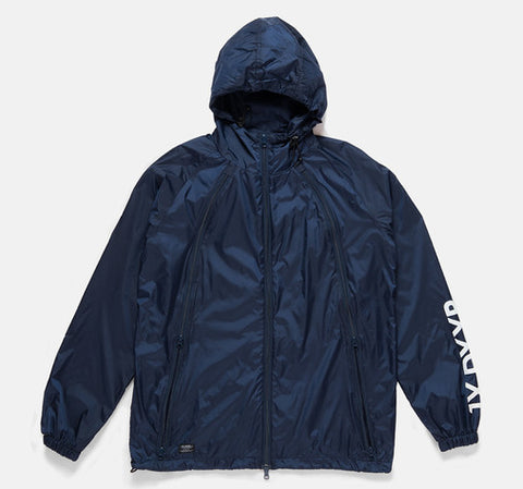 10Deep -  Triple Zip Men's Nylon Shell, Navy