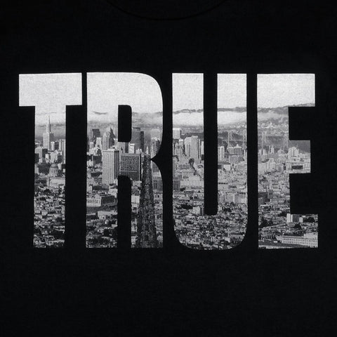 TRUE - TRSF Men's Shirt, Black