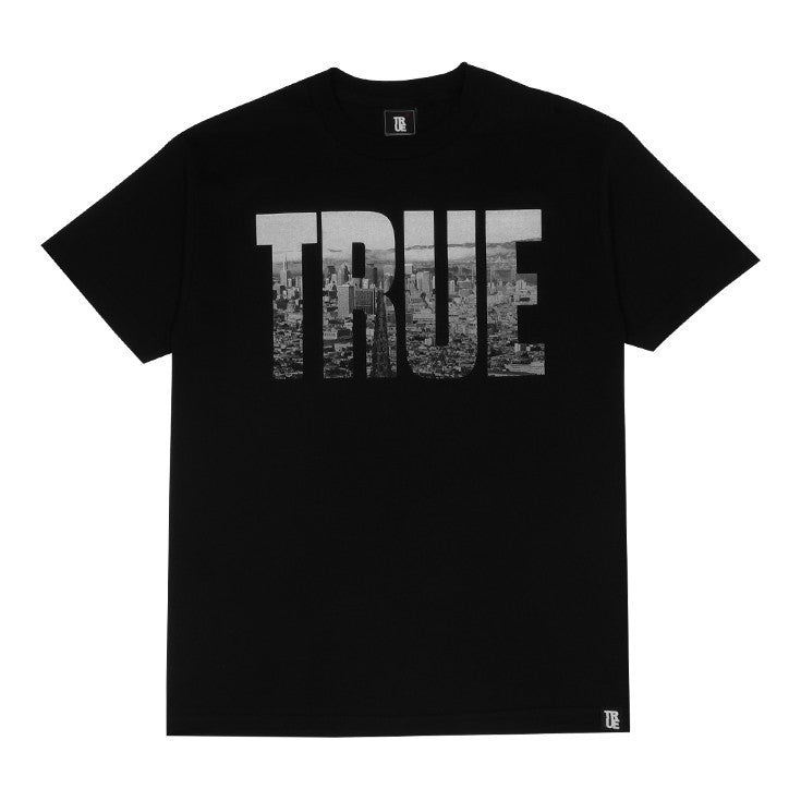 TRUE - TRSF Men's Shirt, Black - The Giant Peach - 1