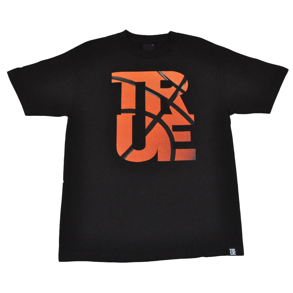 TRUE - Basketball Men's T-Shirt, Black - The Giant Peach