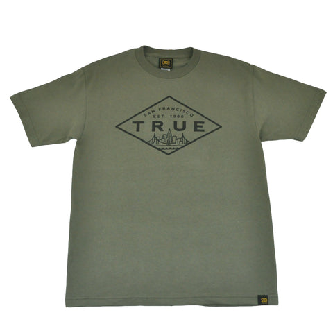 TRUE - Established Basic Men's T-Shirt, Military