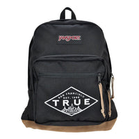 TRUE x Jansport Right Pack Established Basic Backpack, Black