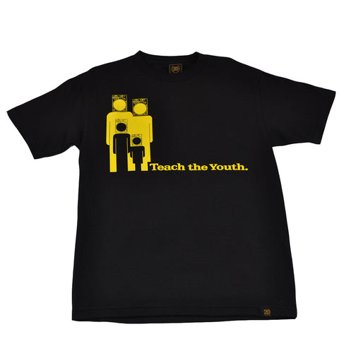Ongaku - Teach Youth Men's T-Shirt, Black
