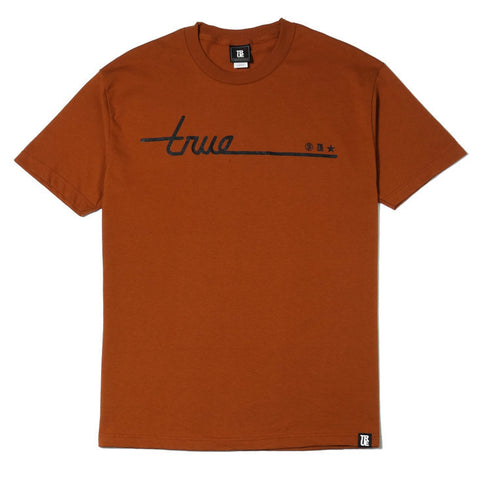 TRUE - Darkside Men's Shirt, Texas Orange