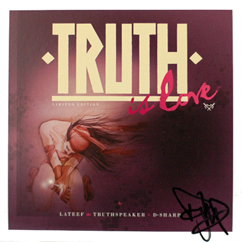 Lateef - Truth Is Love (Autographed), CD - The Giant Peach
