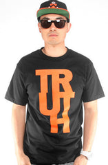 Adapt x TRUE - Truth Men's Shirt, Black - The Giant Peach