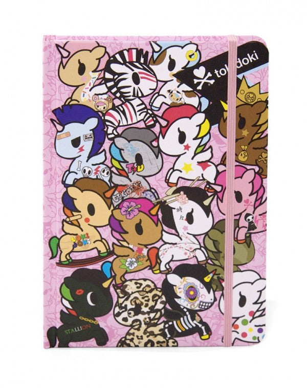 tokidoki - Unicorno Hard Cover Notebook - The Giant Peach