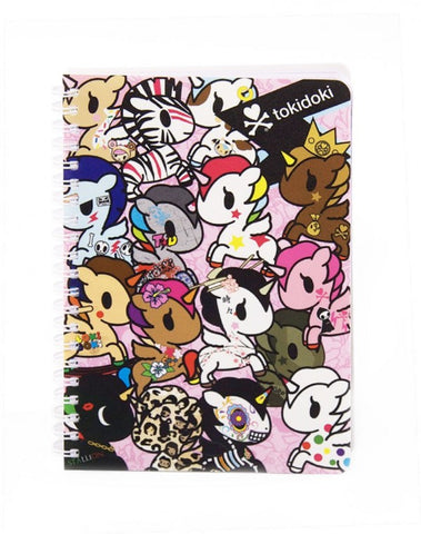 tokidoki -  Unicorno Wire O Notebook