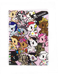 tokidoki -  Unicorno Wire O Notebook - The Giant Peach