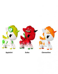 tokidoki - Unicorno Fruit 3-Pack Vinyl Figures - The Giant Peach