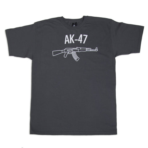 Upper Playground - AK-47 Men's Shirt, Charcoal