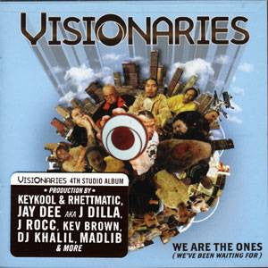 Visionaries - We Are The Ones, CD - The Giant Peach