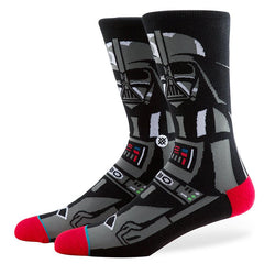Stance - Vader Men's Socks, Black - The Giant Peach