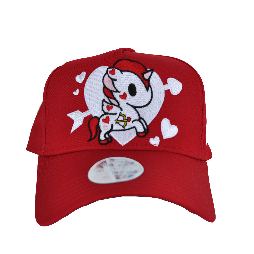tokidoki - Valentine Snapback Hat, Red - The Giant Peach