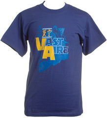 Vast Aire - Logo Men's Shirt, Metro Blue - The Giant Peach