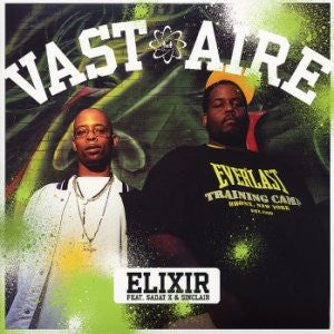 "Vast Aire Feat. Sadat X & Sinclair - Elixir, 12"" Vinyl - The Giant Peach"