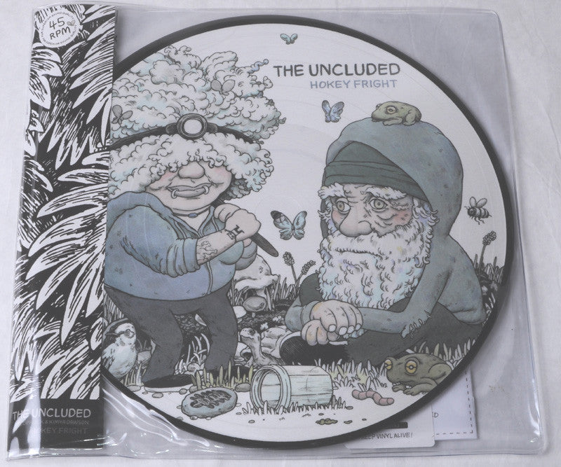 The Uncluded - Hokey Fright, 2xLP Vinyl Picture Discs - The Giant Peach - 2