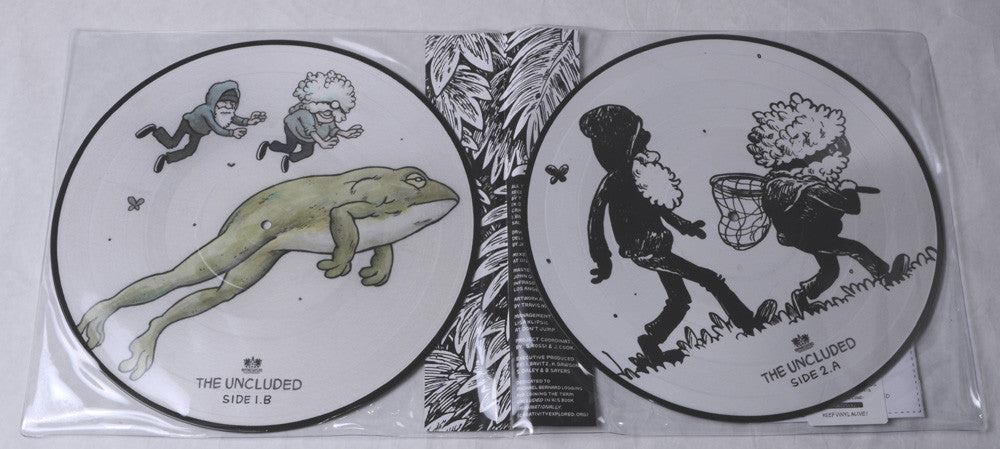 The Uncluded - Hokey Fright, 2xLP Vinyl Picture Discs - The Giant Peach - 3