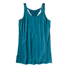 Eden by Element - Vivian Women's Tank Top, Lagoon - The Giant Peach