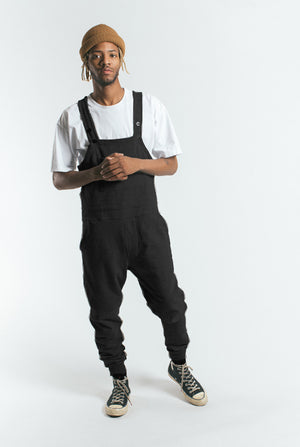 Akomplice VSOP - Fleece Men's Overalls, Black