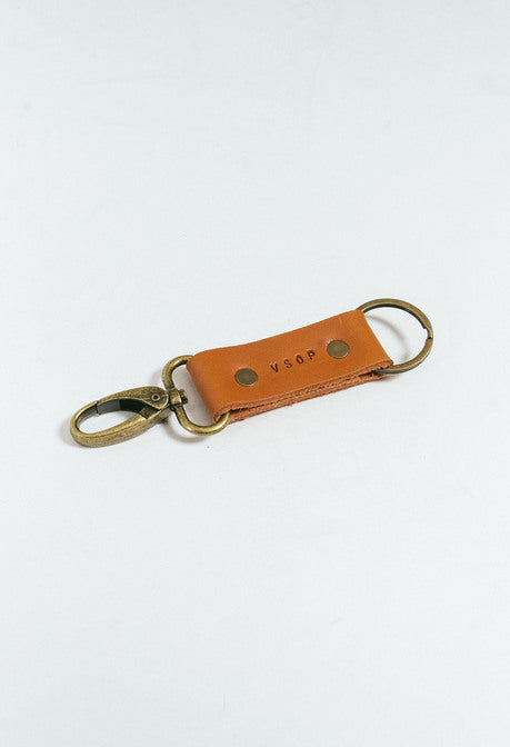 Akomplice VSOP x Pavo - V Key Ring, Leather
