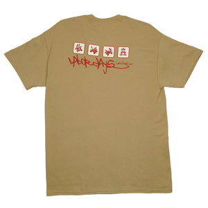 Aesop Rock - Wake Work Shirt, Tan - The Giant Peach