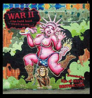 V/A - WAR II presented by DJs of Mass Destruction, CD - The Giant Peach
