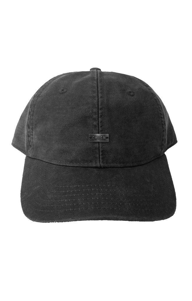 Original Chuck - Wax Dad Hat, Black - The Giant Peach
