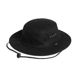 HUF - Waxed Jungle Hat, Black - The Giant Peach