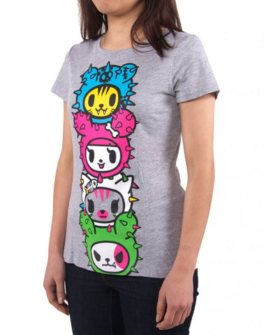 tokidoki - Toki Totem Women's Shirt, Heather Grey