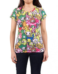 tokidoki - Saguaro Women's Shirt - The Giant Peach - 1