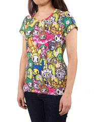 tokidoki - Saguaro Women's Shirt - The Giant Peach - 3