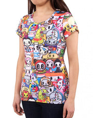 tokidoki - Buffet Women's Shirt - The Giant Peach - 3