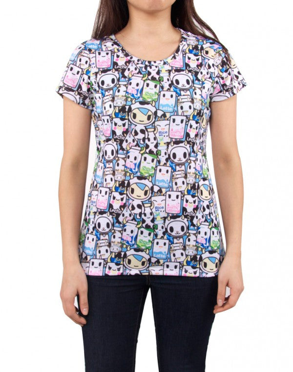 tokidoki - Milkshake Women's Shirt - The Giant Peach