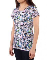 tokidoki - Milkshake Women's Shirt - The Giant Peach - 3