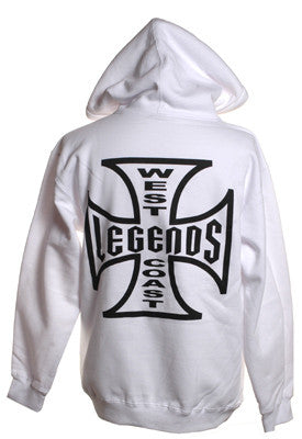 Murs West Coast Legends Hoodie, White - The Giant Peach