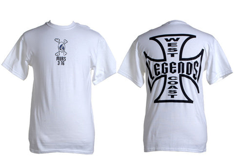 Murs - West Coast Legends Men's Shirt, White