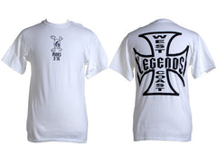 Murs - West Coast Legends Men's Shirt, White - The Giant Peach