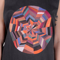 OBEY x DeeDee Cheriel - Omnipotence Women's Moto Tank, Dusty Black - The Giant Peach